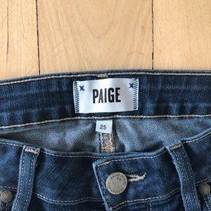 Paige Verdugo Ankle Jeans sz 25